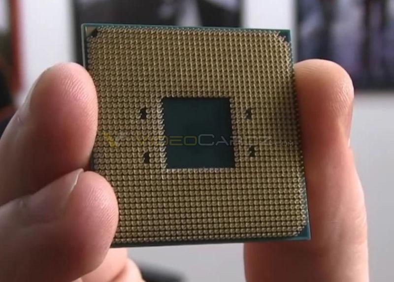 Amd Ryzen Processors Get First Pictures Final Heat Spreader Design Shown