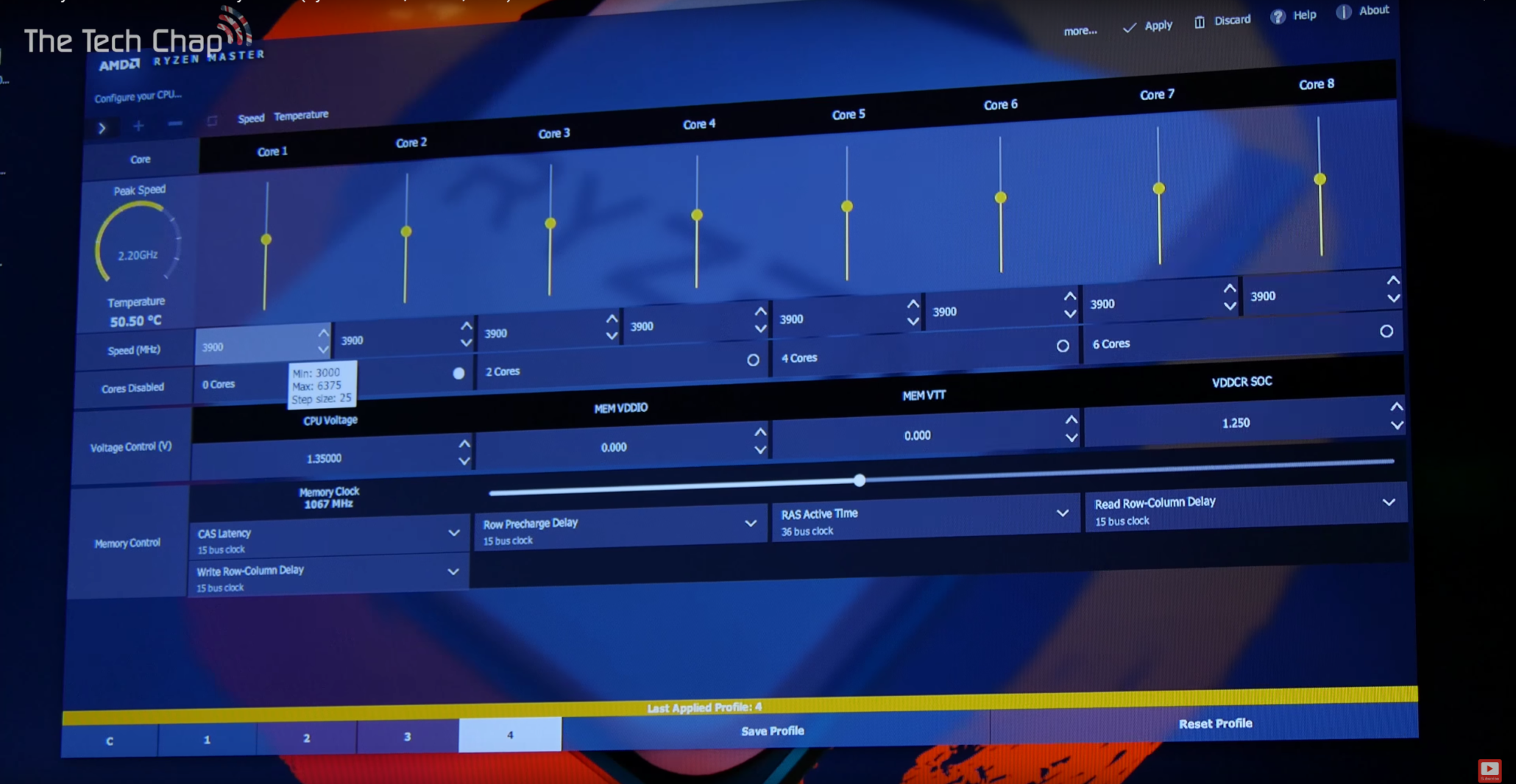 AMD Ryzen Master Overclocking Utility For Enthusiasts Detailed