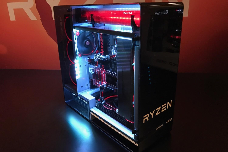 AMD Ryzen CPU Overclocking and XFR Live Demos Revealed