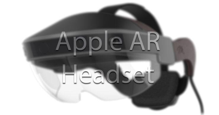 Apple AR headset announcement