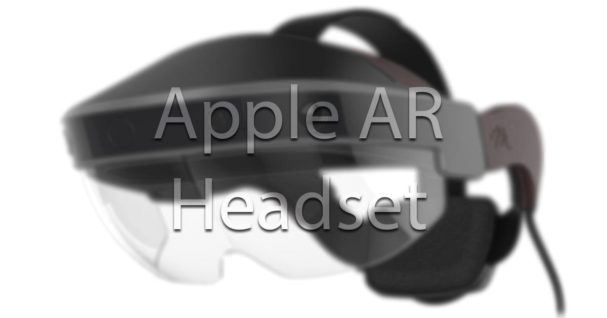 Resultado de imagem para apple headset AR