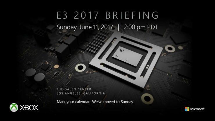 Microsoft Xbox E3 2017 conference