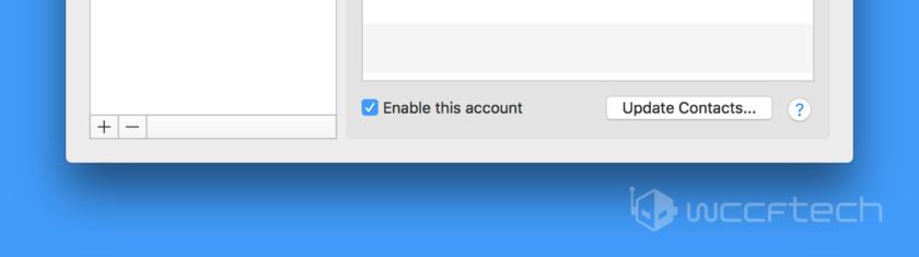 Remove Social Accounts