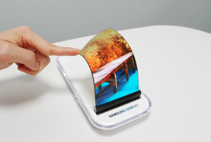 Samsung foldable smartphone MWC 2017