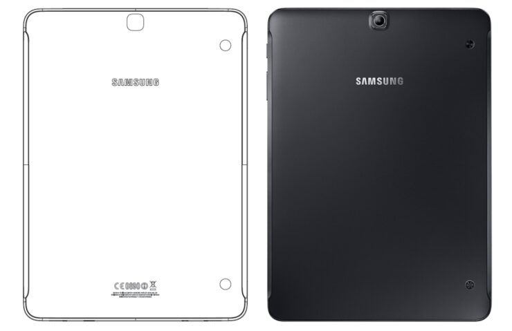Galaxy Tab S3 manual leak