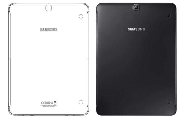 Galaxy Tab S3 press renders
