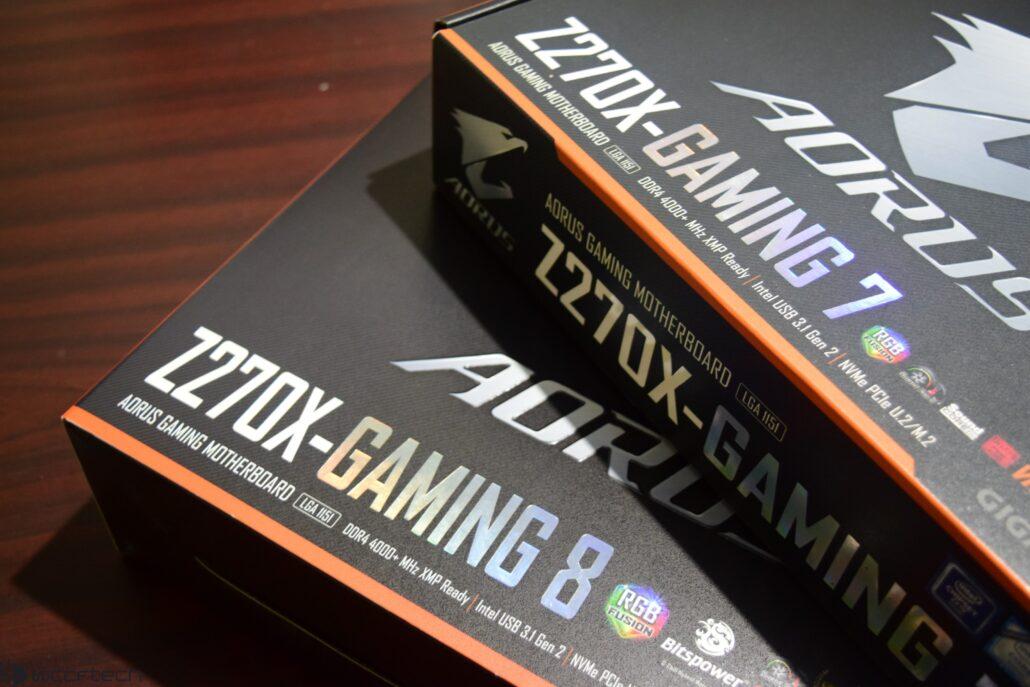 GIGABYTE AORUS Z270X-Gaming 8 LGA 1151 Motherboard With Core