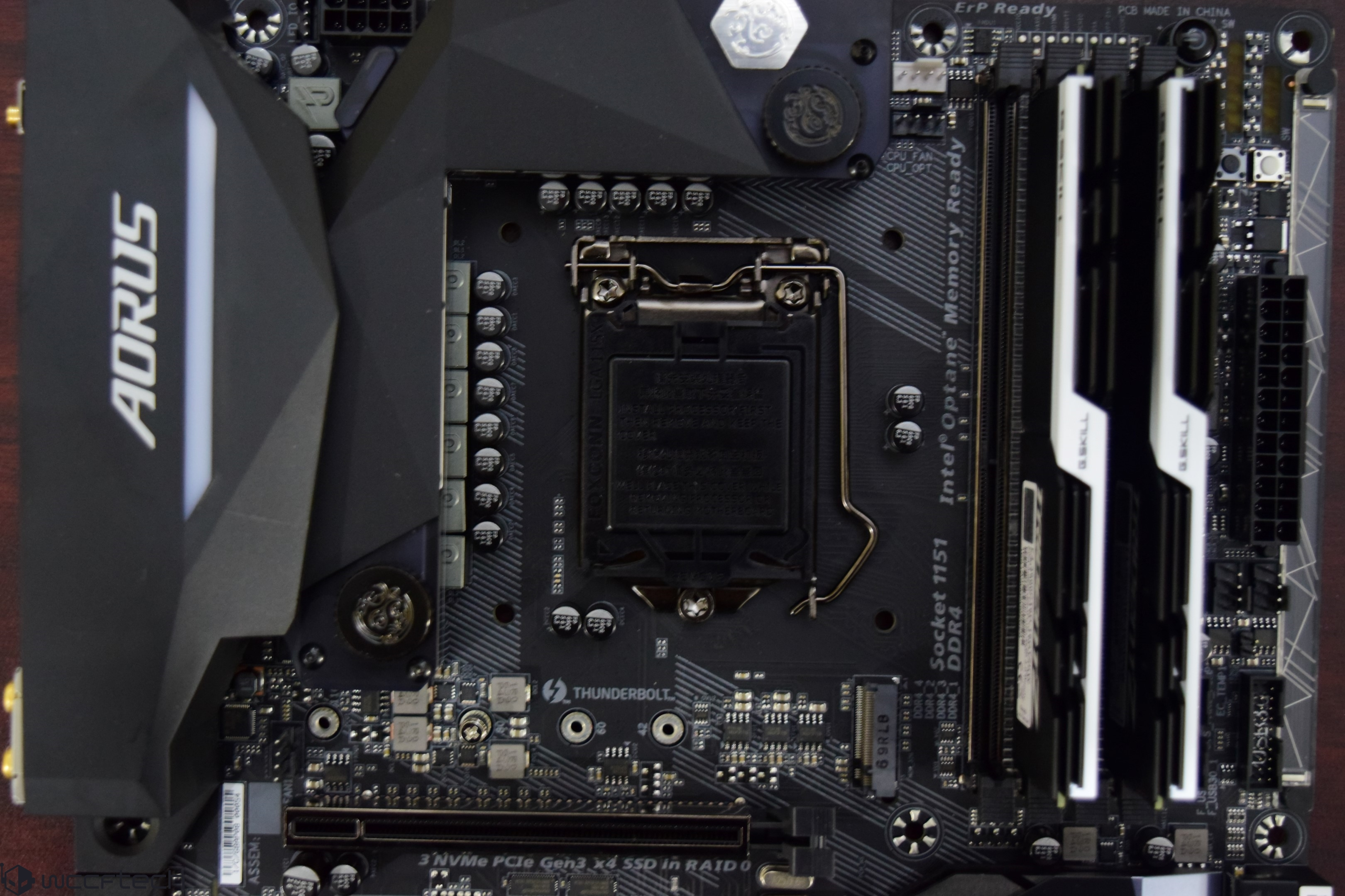 GIGABYTE AORUS Z270X-Gaming 8 LGA 1151 Motherboard With Core i7