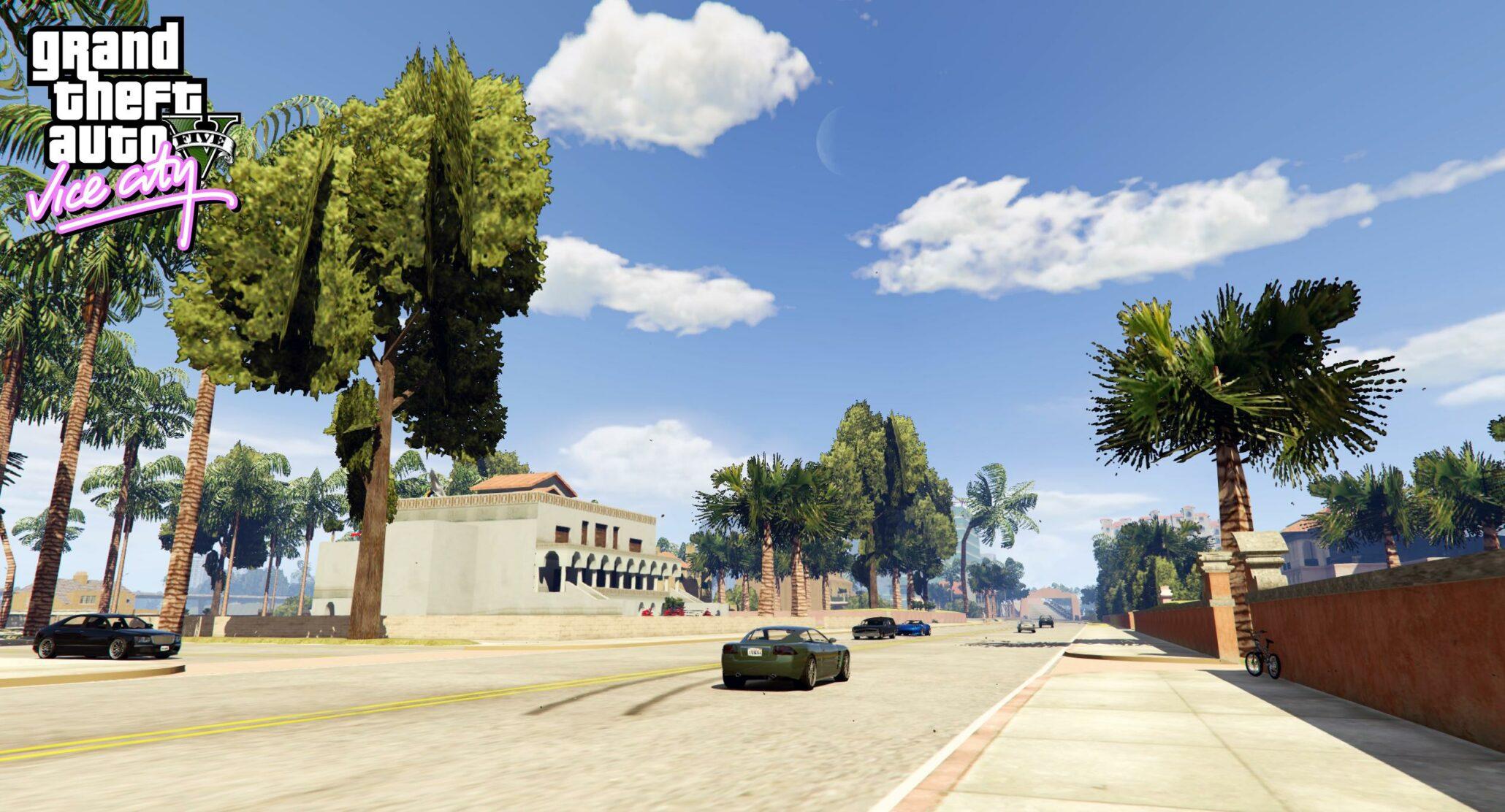 Grand Theft Auto V New Mod To Introduce GTA III Libery City, Vice