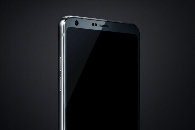 LG G6 front panel leak