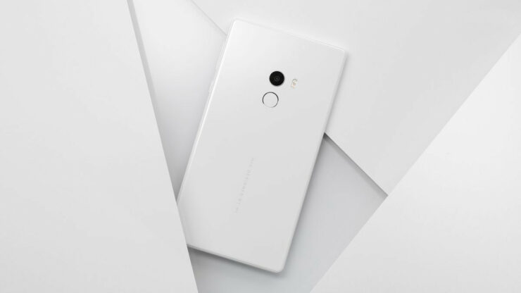 Xiaomi Mi MIX II more screen less bezels