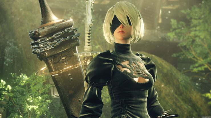 Monster Hunter World NieR Automata Mod