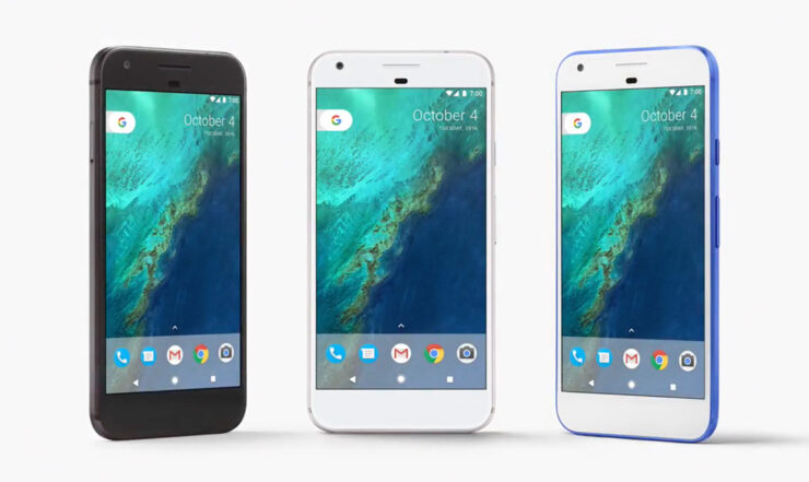 Google Pixel 2 design input