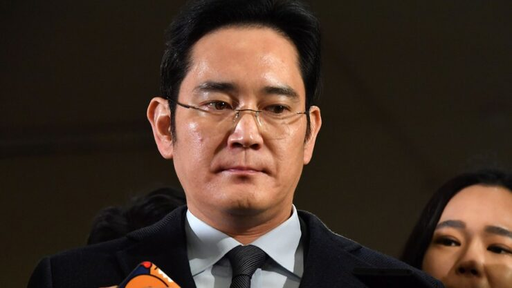 Samsung Vice Chairman arrested