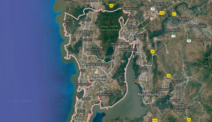 Google Maps Mumbai