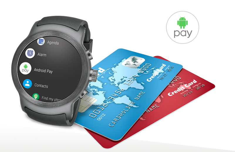 How To Use Android Pay On An Android Wear Smartwatch
