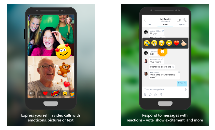 Skype Preview For Android Gets New Features Including Reactions