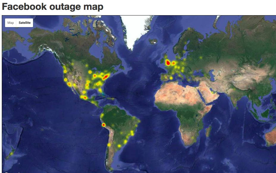 Facebook Outage
