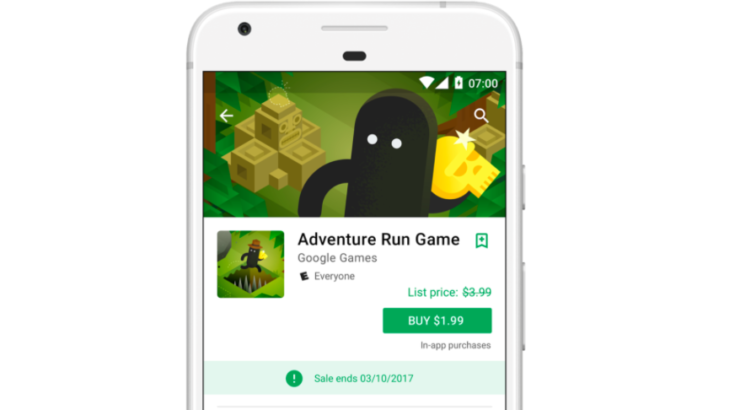 Google Play Store Sale Pricing