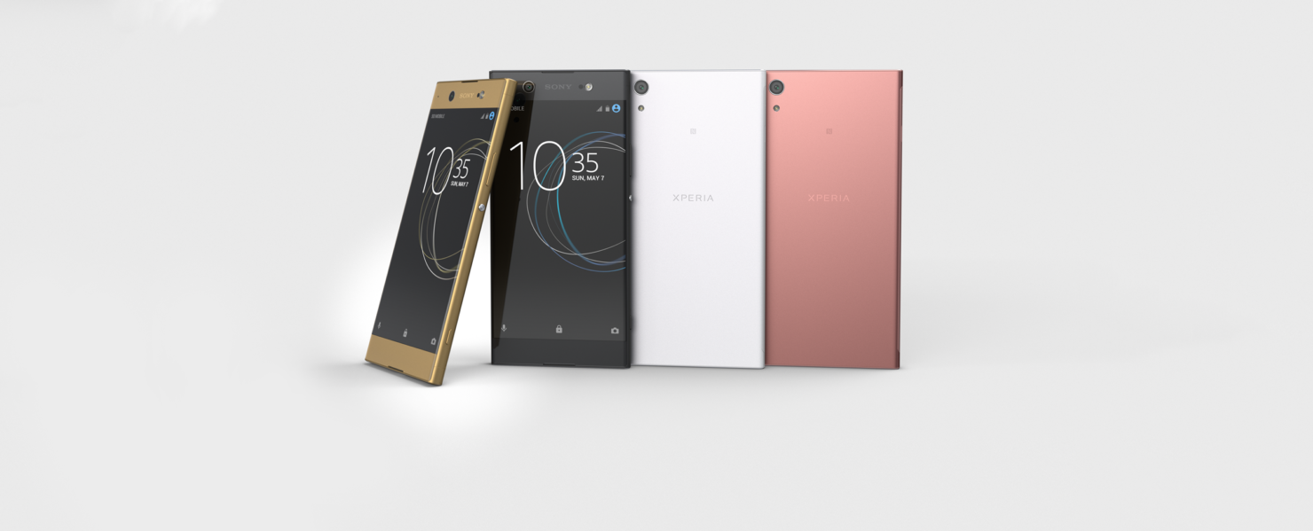 Sony mid ranged phones MWC 2017 announced