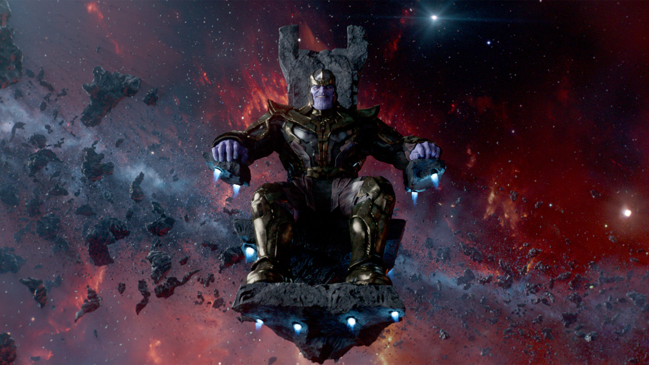 Thanos Is Taking Center Stage In Avengers Infinity War
