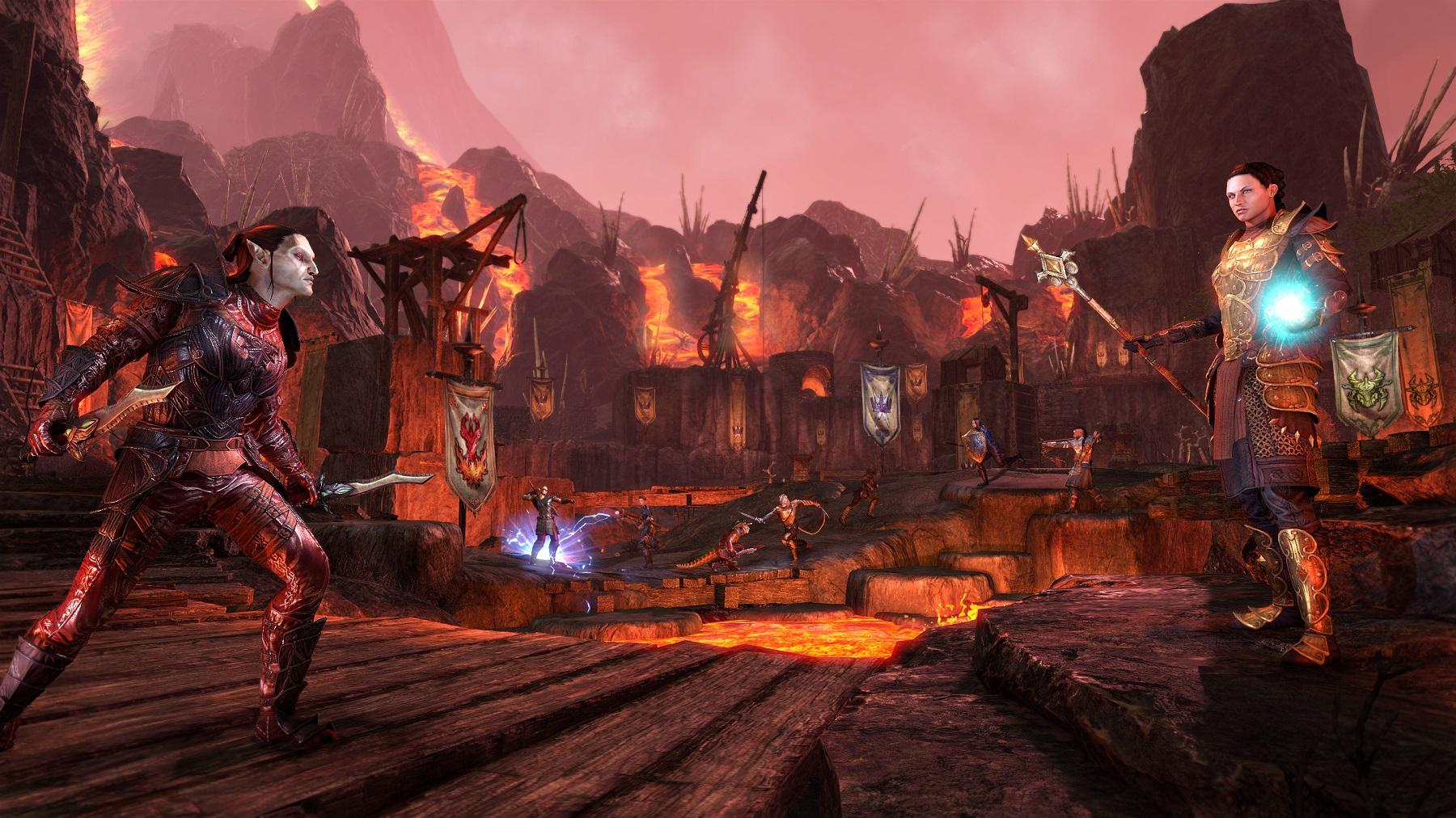 The Elder Scrolls Online Morrowind Gameplay Showcased In Brand New Trailer