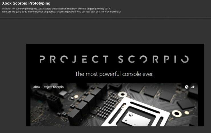Xbox Scorpio Motion 2
