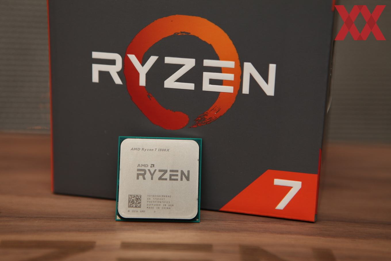 AMD Ryzen 7 1800X 8 Core 16 Thread 4.0GHz Flagship CPU Unboxed