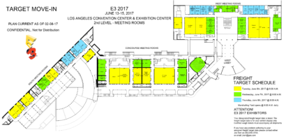 E3 2017 Floor Plans Reveal That Nintendo And Sony Will Dominate The Show Floor