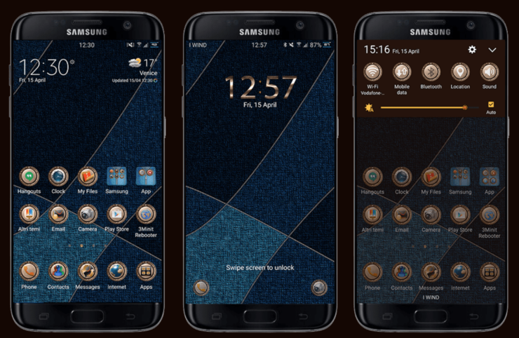 Galaxy S7 edge custom ROM
