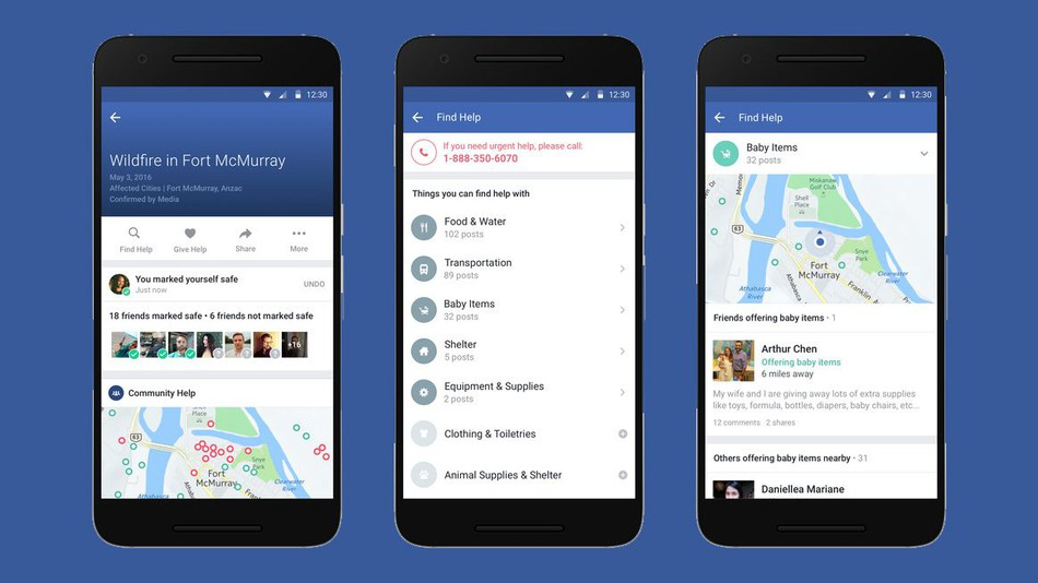 """Facebook Adds """"Community Help"""" to Offer or Get Help during a Disaster"""