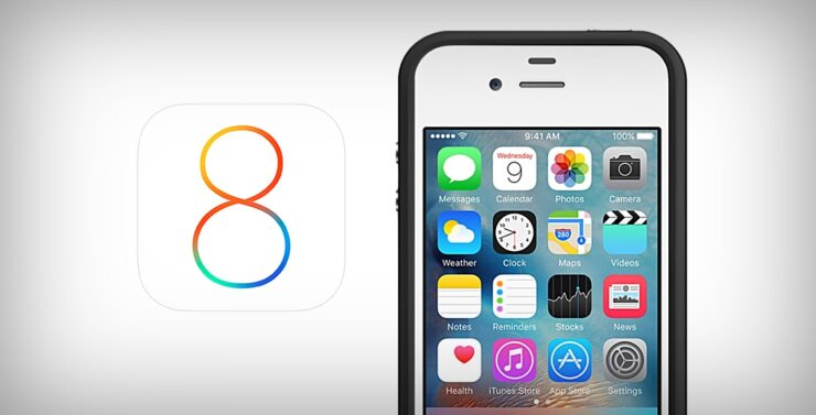 iOS 8 for iPhone 4