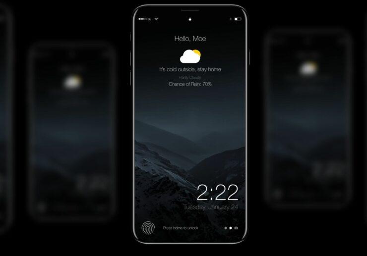 iPhone 8 iris scanning technology
