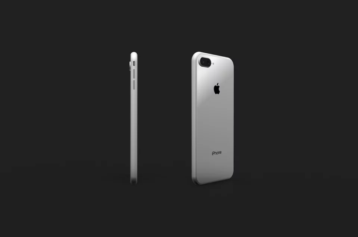 iPhone 8 glass panel rumor