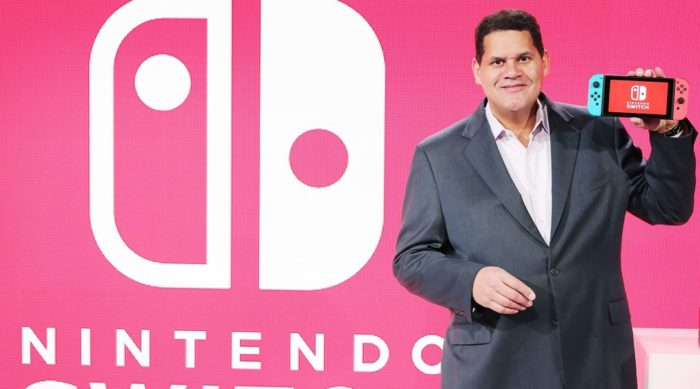 nintendo switch reggie letter