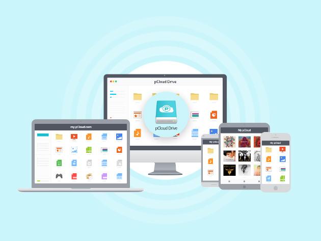 pCloud Premium Cloud Storage Lifetime Subscription