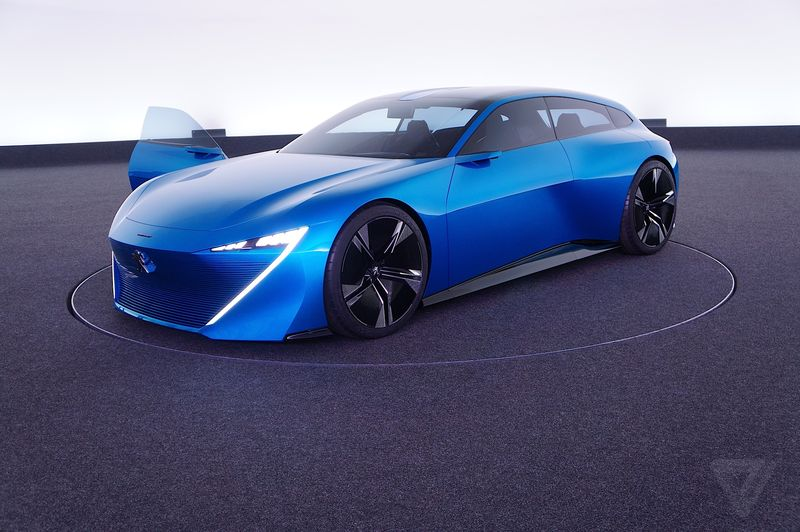 Peugeot\'s Concept Car Instinct Is Pretty Neat And Has Both Active ...