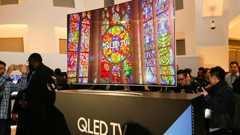 Samsung QLED TVs Go on Sale and They're Not Cheap