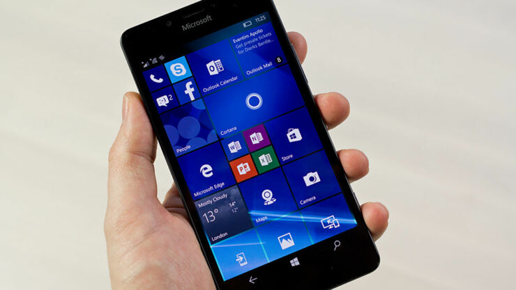 Windows 10 Mobile Creators Update Windows 10 Mobile Night Light