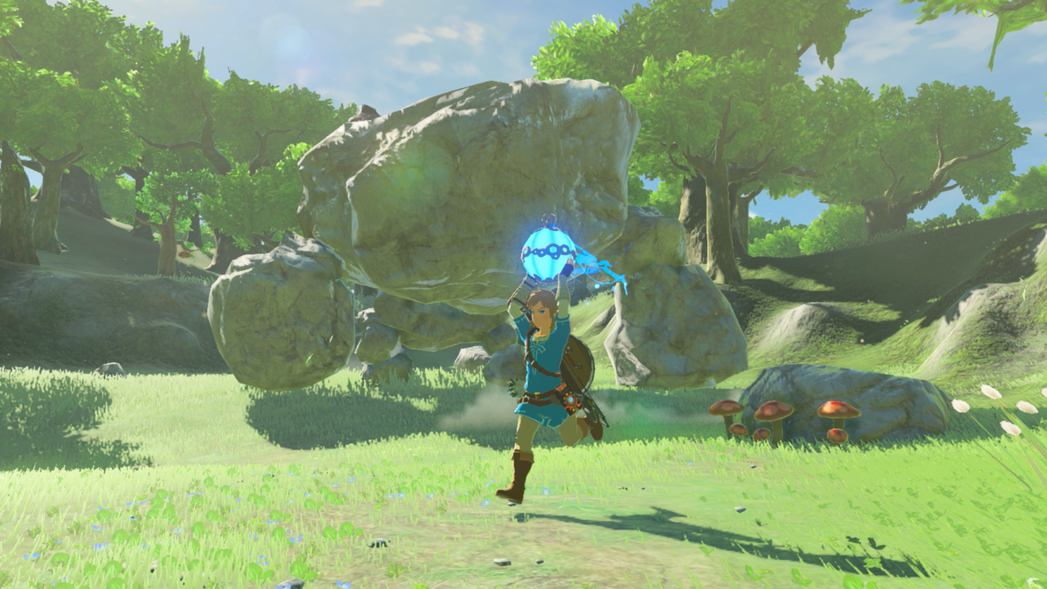 First official screenshots released for Zelda: Breath of