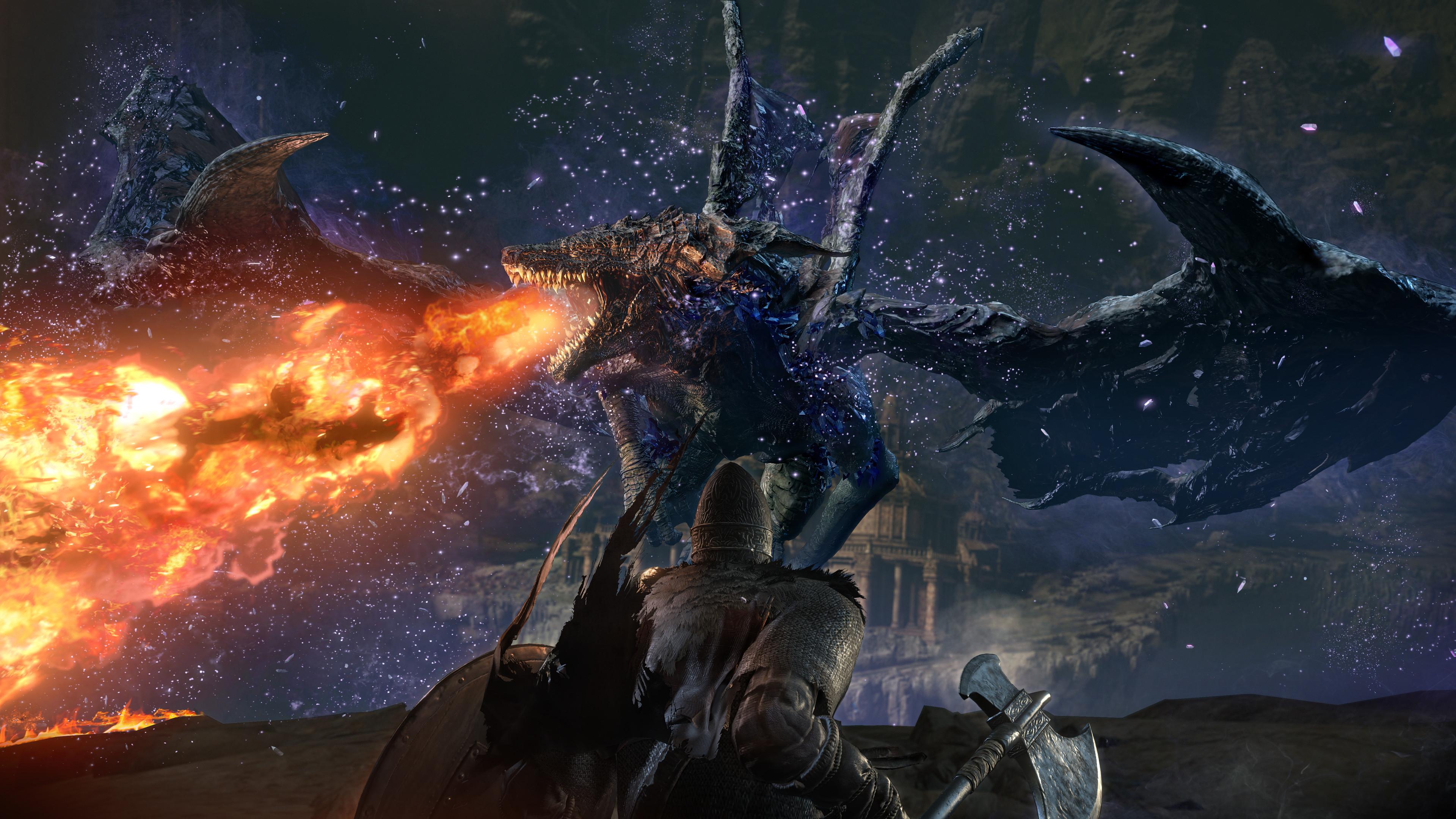 Dark Souls 3 The Ringed City New Screenshots Showcase Fearsome