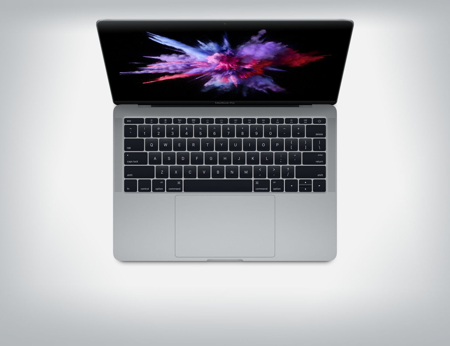 MacBook Pro charged