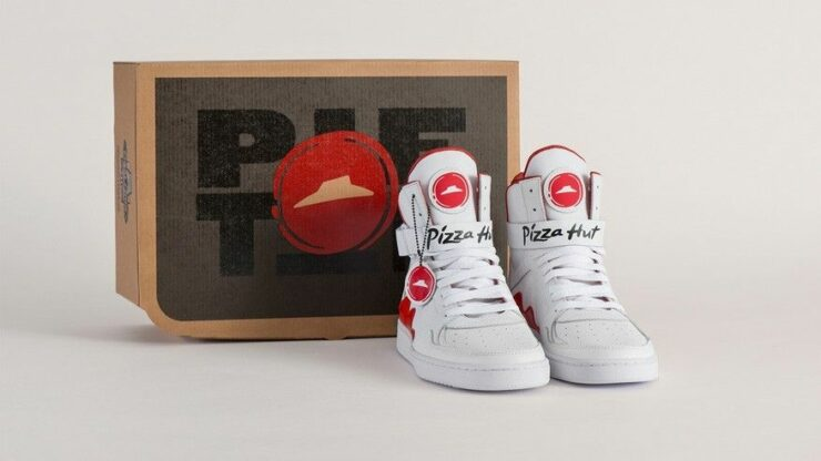 Pizza Hut Pie Top Sneakers