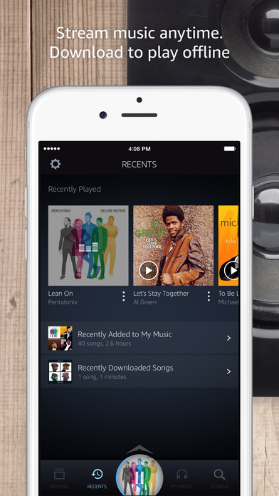 amazon music iphone for ios adds support for apple s carplay 5027