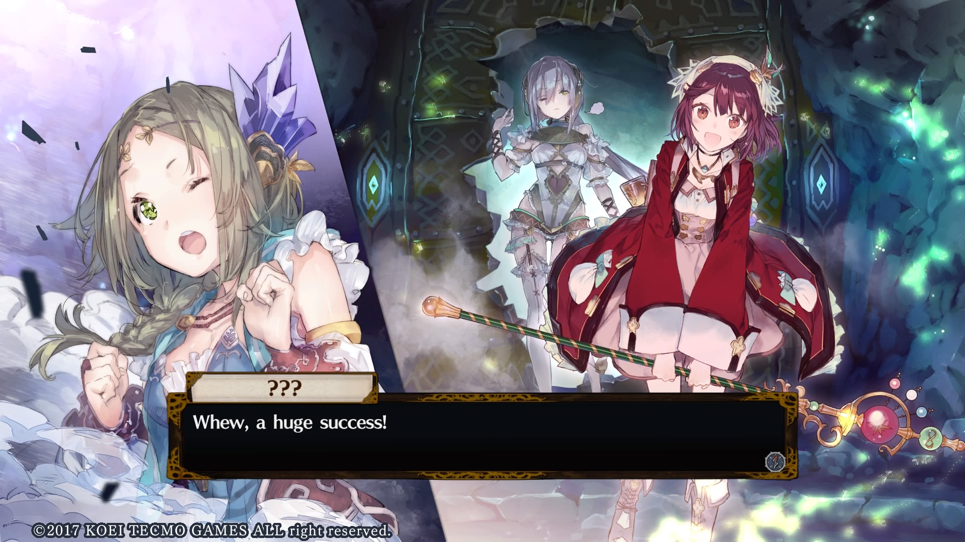 atelier firis alchemist of the mysterious journey what a fine after finally getting permission to leave from the village elder firis and her older sister liane set out in the wide world to reach the city of reisenberg
