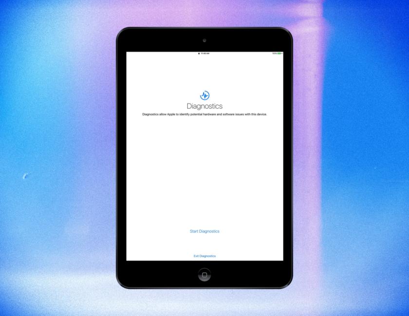 Diagnostics iPad Mini