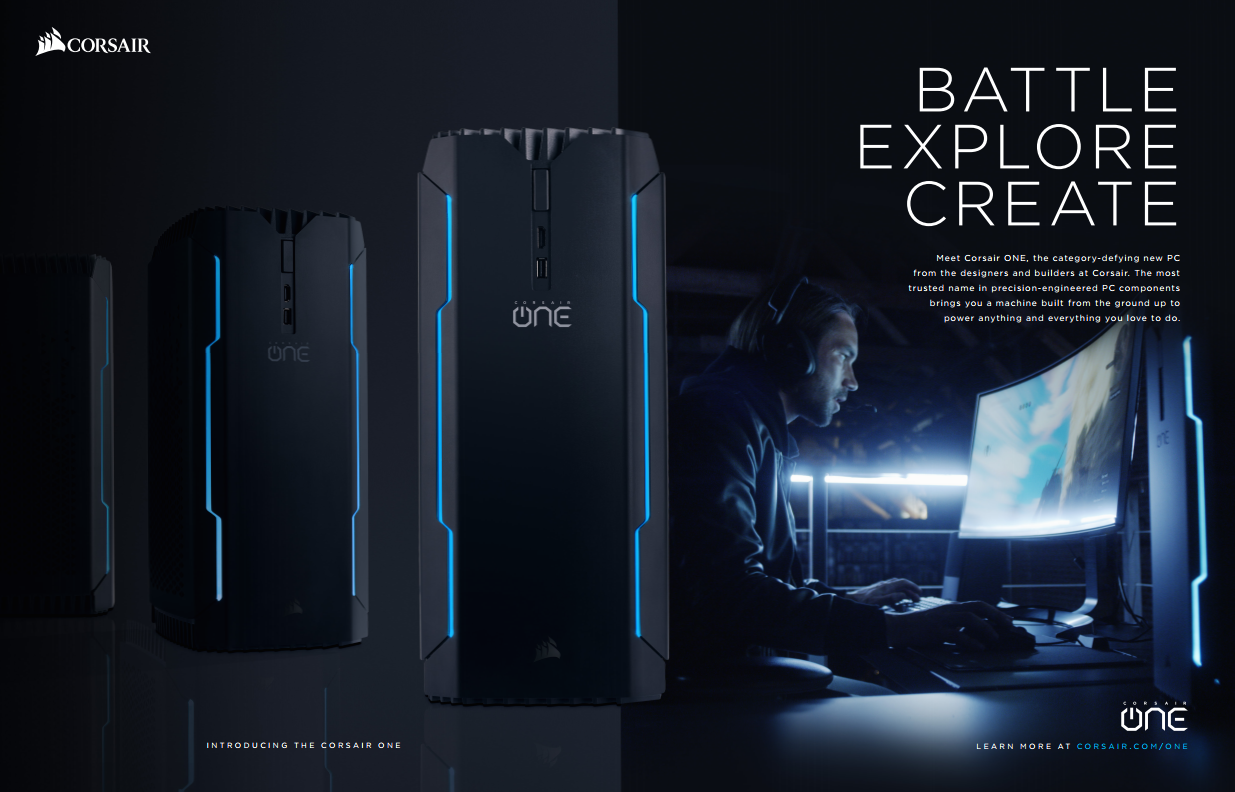 Corsair One Enthusiast Gaming Pc Is Now Ready To Pre Order
