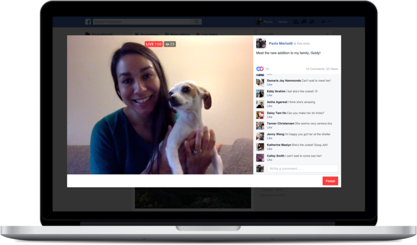 Facebook Live Adds Support For PC Games And Desktop Live Streaming