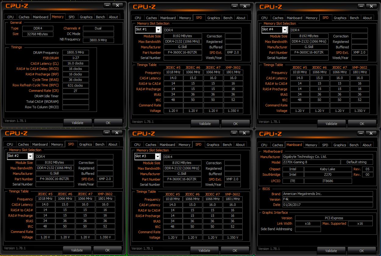 G Skill Trident Z RGB 32 GB 3600 MHz CL16 Memory Kit Review