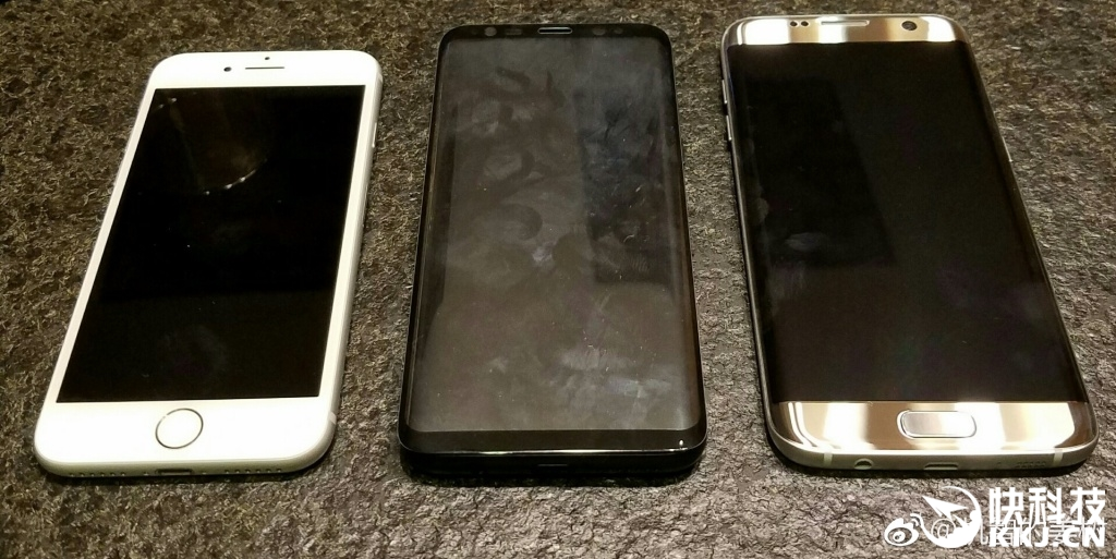 Samsung Phones 2017 >> Size Wise, How Well Does the Galaxy S8 Measure up Against the Galaxy S7 edge and iPhone 7?